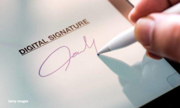 Cloud Electronic Signature